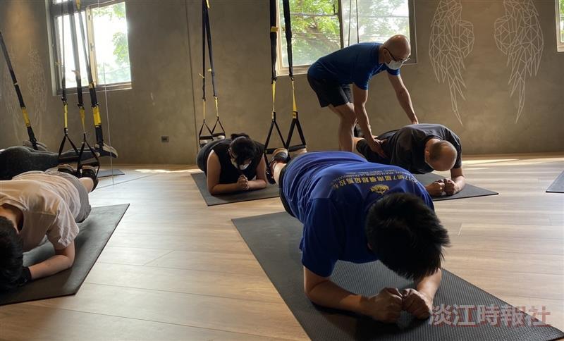 合氣道徐蔚人教你掌控肌力與體能