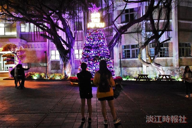 2018淡江校園燈飾
