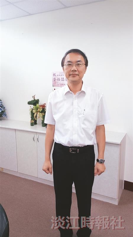 教務處教務長暨研究發展處視障資源中心主任林俊宏