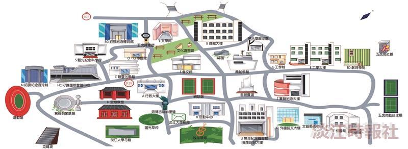 校園地圖109