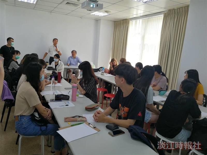 德文系於9月16日舉辦「美語實習接軌菁英國際職涯規劃」活動