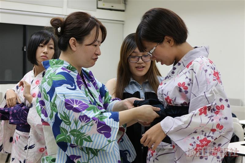 日本文化研究社浴衣體驗