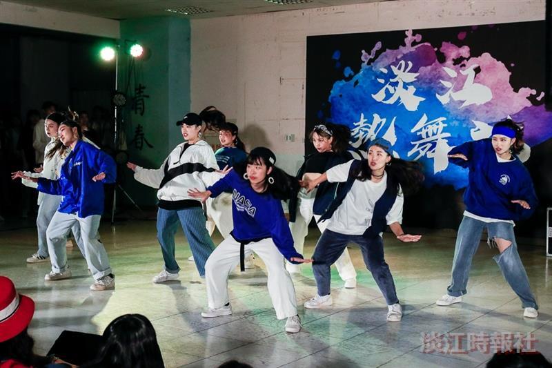 淡江熱舞社迎新