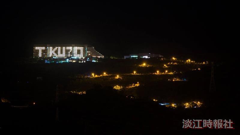 蘭陽校園燈峰照吉