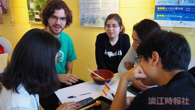 境輔組9/26中午12:10舉辦「Chat Corner」活動