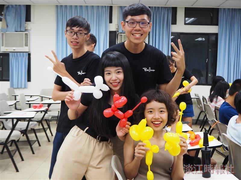 創意氣球社動手做造型
