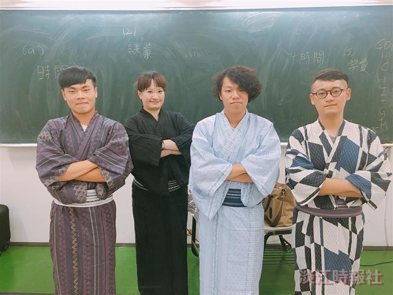 日研社舉辦體驗穿著浴衣