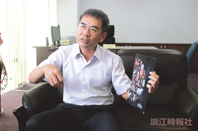 外國語文學院院長吳萬寶
