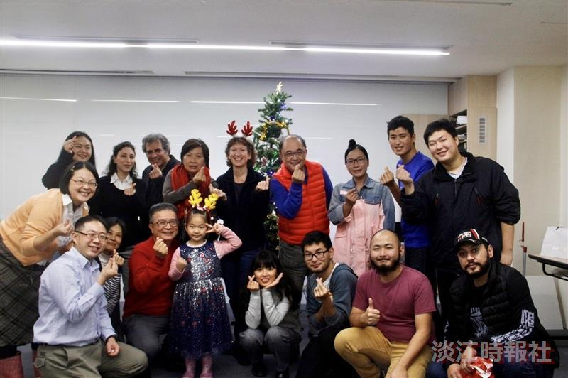 未來學所舉辦耶誕活動