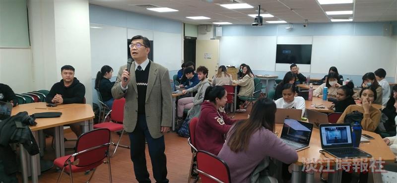 外交與國際系與長崎大學線上交流