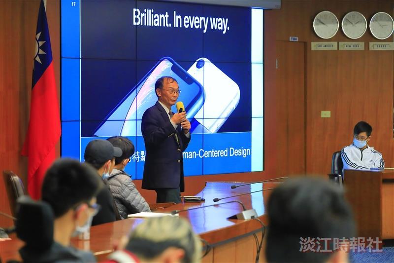 文學院國際大師演講 - 玉山學者杜武青教授