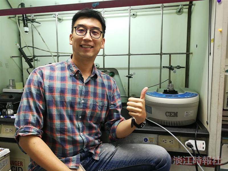 潘伯申研發含硼化合物製備法 獲臺灣及美國發明專利