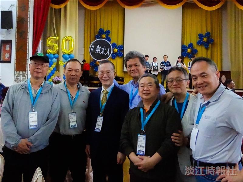 航太系50週年系慶 近400位校友返校慶賀