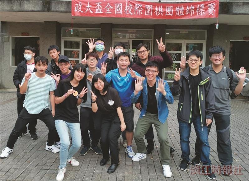 圍棋社奕軍突起 奪政大盃級位組冠軍