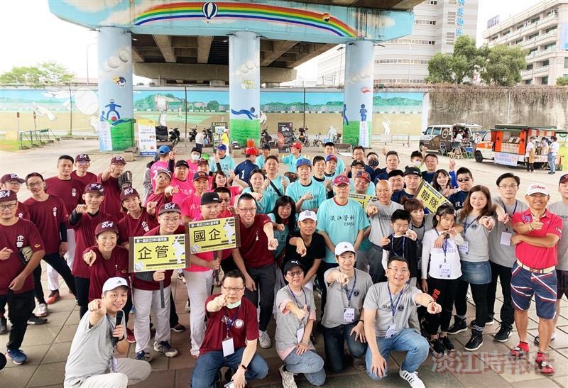EMBA壘球賽歡樂揮棒 國企奪冠 張敦閔獲MVP 蔡蕎安最佳木蘭獎