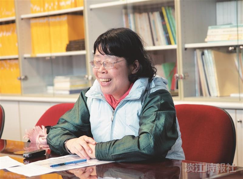 師培中心主任朱惠芳