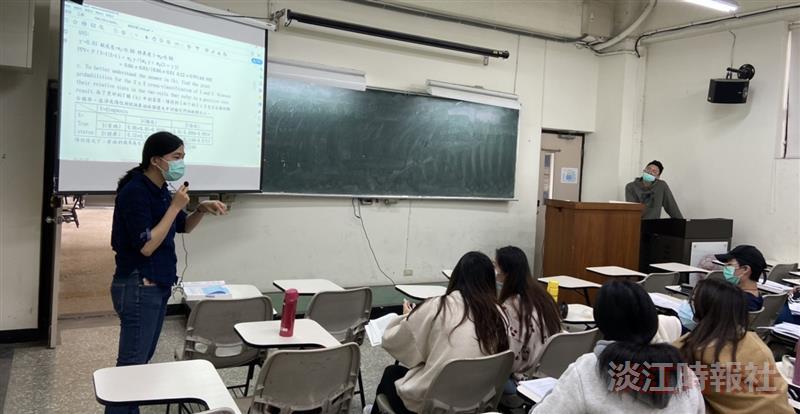 特優教師開放觀課 李百靈透過互動討論引領學習