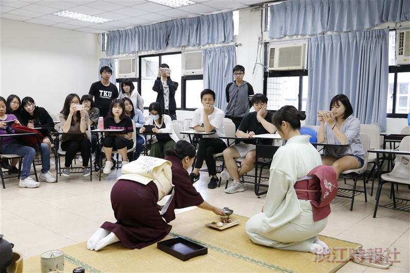 高教深耕計畫 多元文化講座 : 日本茶道美學與和食用餐禮儀