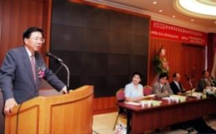 △內定外交部長田弘茂(左)應東南亞所之邀蒞會專題演講。(馮文星攝影)