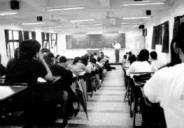 導師制度的多元,要讓全班聚在一塊兒開班會,似乎不太容易了。(攝影\張佳萱)