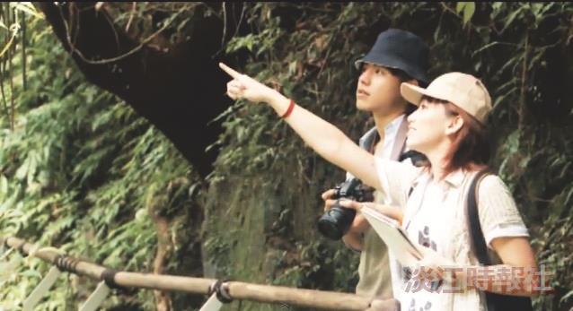 觀光系拍片 宣傳林美好風光