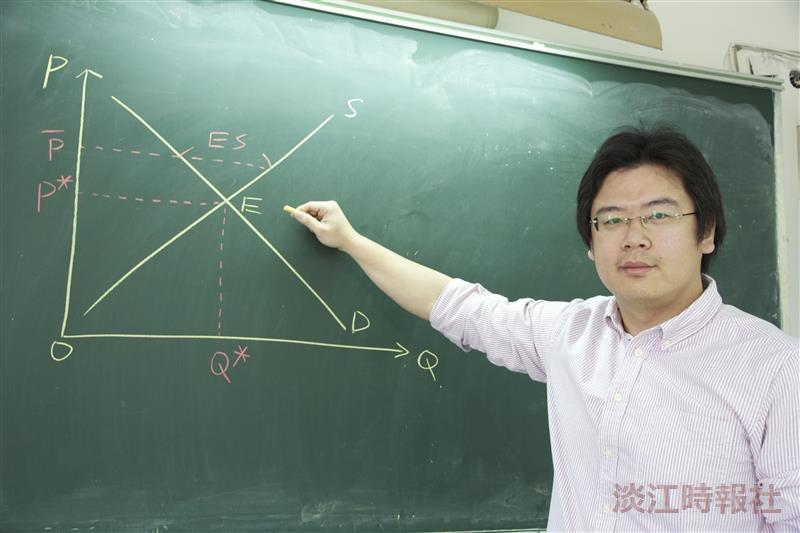 教學助理速寫:優良TA王羿傑