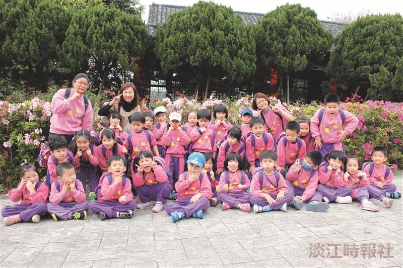 150幼兒參觀海博館 賞春花