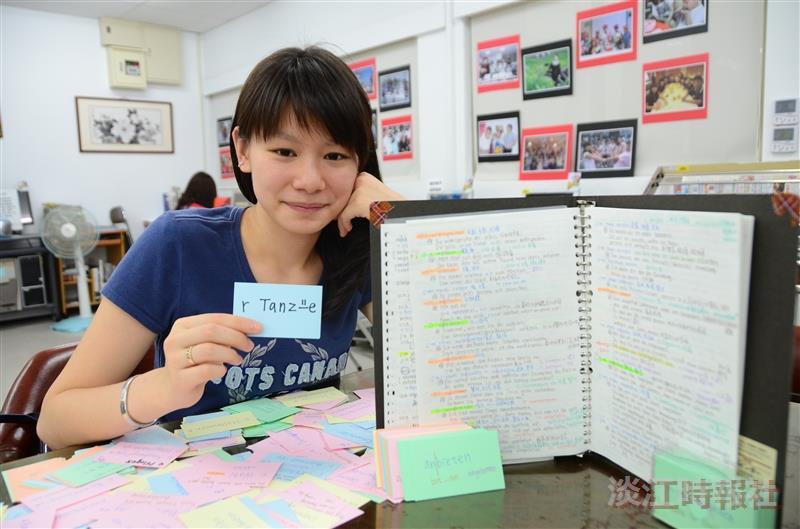 讀書好神>系統化學習 字卡筆記雙管齊下白珂寧