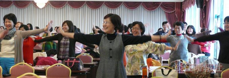女聯會歡慶婦女節 團康健身喜洋洋