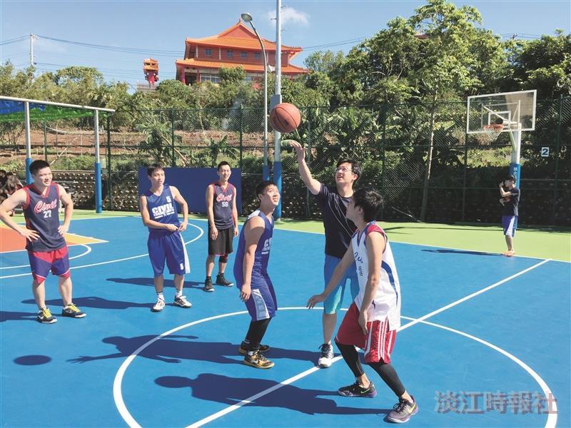 K.E.紀念籃球賽 土木逾120師生解壓