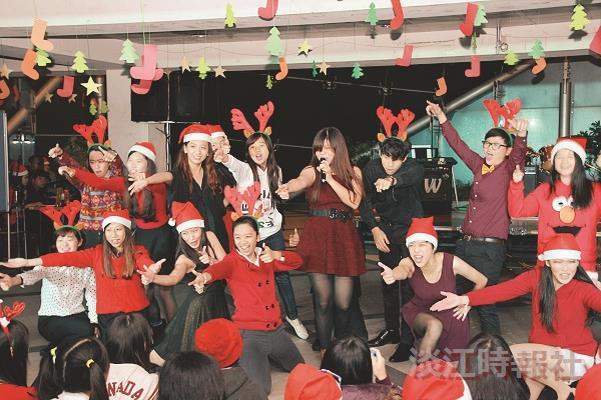 系所瘋耶誕  戰略蘭陽狂歡party