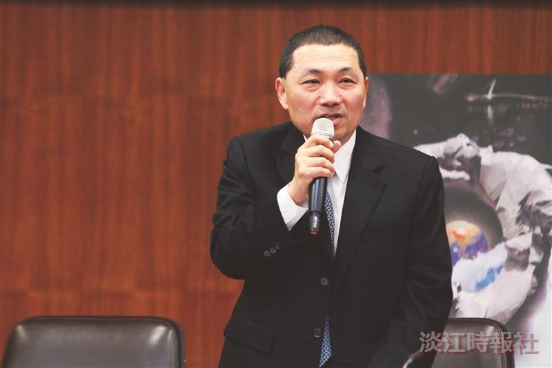 創造教育的未來 侯友宜林騰蛟來校論壇