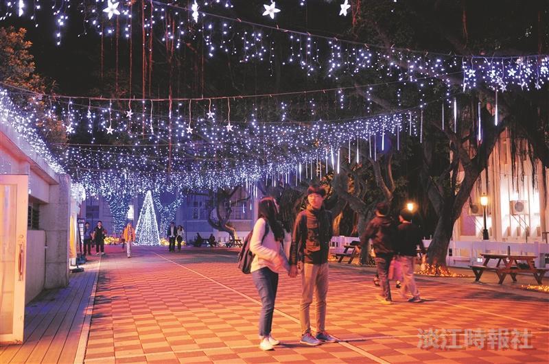 冬節近 校園閃星光
