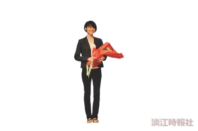 英文二陳彥伶 北京英語演講獲一等獎