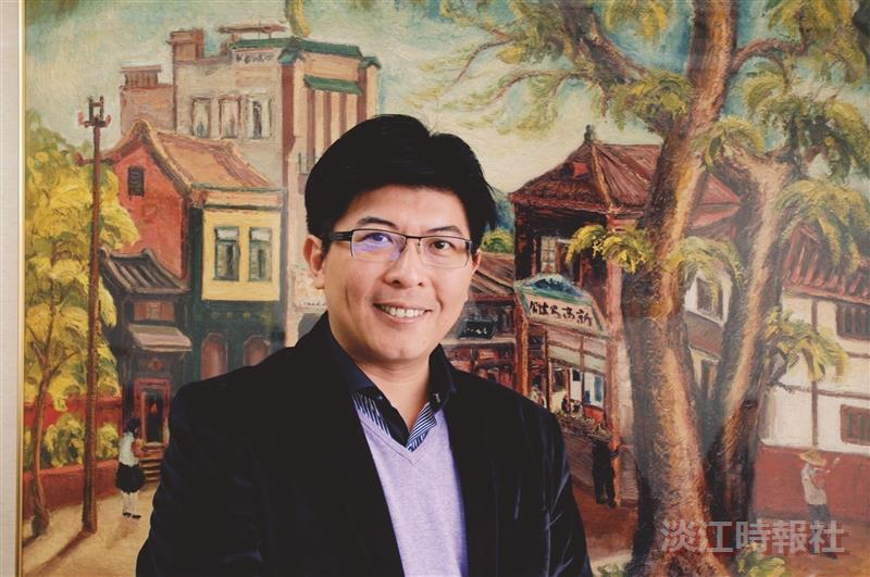 嘉義市文化局局長顏加松 要讓世人看見嘉義藝術新貌