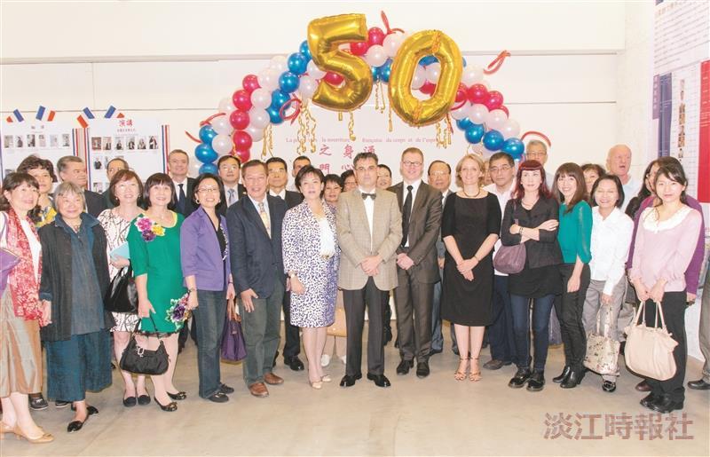 喜迎50週年 法文系啟動文化巡禮
