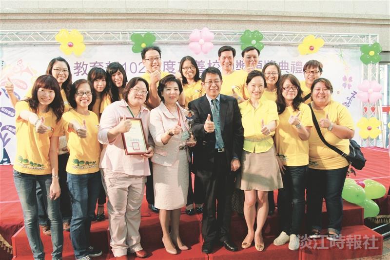 本校榮獲友善校園獎 為唯一獲獎大學