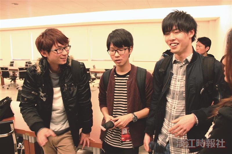 日本法政大學14師生來訪 觀摩課堂交流