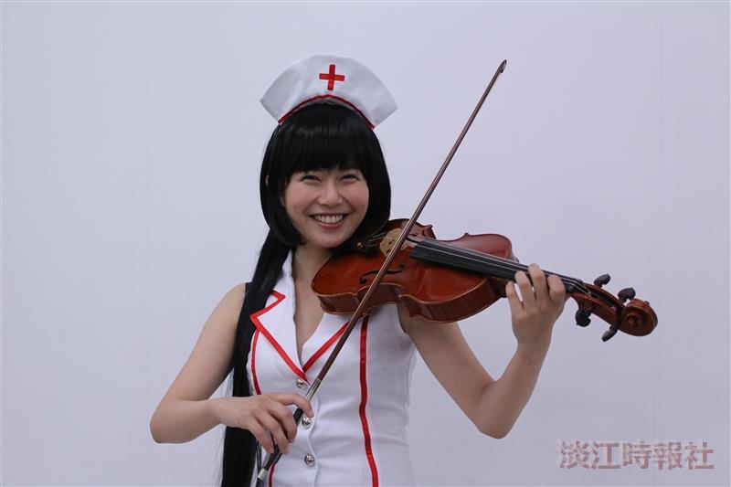 校園話題人物國企二林妤臻 弦樂社社長