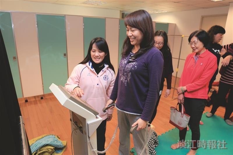 女聯會開課 運動傳遞正能量