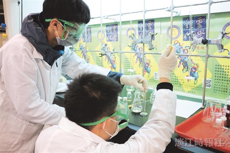 372高中生拚戰鍾靈化學賽