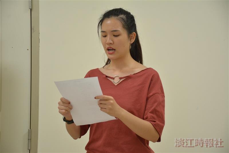 校園德語賽德語詩組德文三陳曉艾獲得冠軍