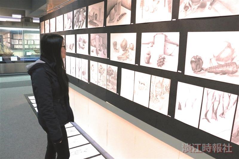 與我相遇 師生攜手展200幅素描