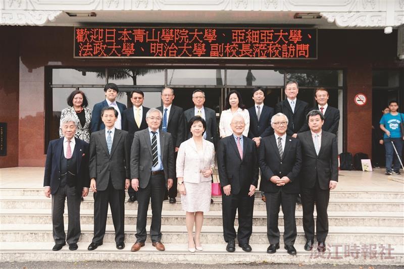 日本5姊妹校副校長於11日來訪