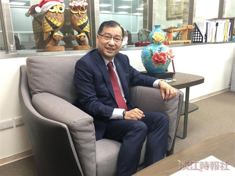 力麗觀光集團董事長蔡宗易校友:用心與創新帶領企業走出困境。