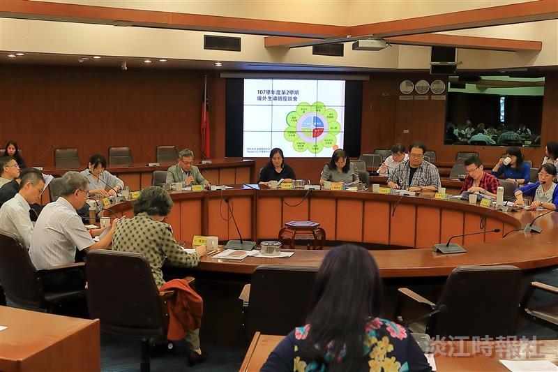 境輔組舉辦「107學年度第2學期境外生導師座談會」