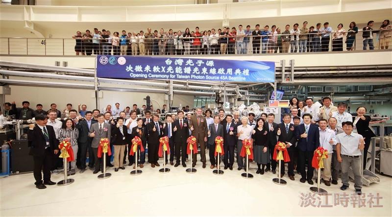 本校攜手國輻中心、德國Max Planck研究院共造「次微米軟X光能譜」光束線實驗設施啟用